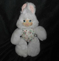 "11"" VINTAGE FISHER PRICE 1998 HANNAHBERRY BUNNY RABBIT STUFFED ANIMAL PL... - $26.18"