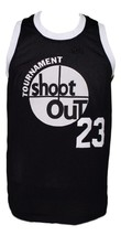 Birdie #23 Above The Rim Tournament Shoot Out Basketball Jersey Black Any Size image 3