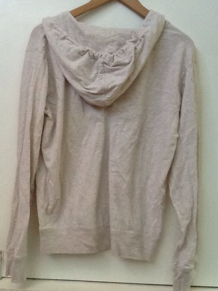 HARD ROCK HOTEL SAN DIEGO Beige HOODIE COTTON Pullover Juniors Fit WOMENS L image 4