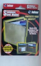 Jobar Stainless Steel Security Wallet - $28.50