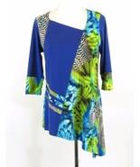 Jersey Knit Asymmetrical Boutique Top - $49.00