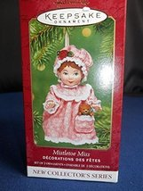 Hallmark Keepsake Ornament 2001 Mistletoe Miss QX8092 - $16.78