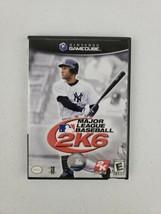 Major League Baseball MLB 2K6 (Nintendo GameCube, 2006) No Manual Tested... - $5.99