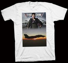Top Gun T-Shirt Tom Cruise, Tim Robbins, Kelly McGillis, Hollywood Movie Cinema - $14.99+