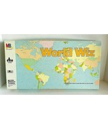 World Wiz Map Game Skills Milton Bradley 1979 Complete - $29.99