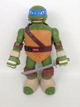 """Teenage Mutant Ninja Turtles TMNT Talking 13"""" Leo Toy with Batteries Pla... - $22.23"""