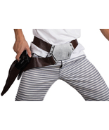 Han Solo Belt with Holster PU Star Wars Cosplay Costume The Force Awaken... - $35.00