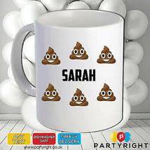 Personalised Poo Emoji Mug Your Name Or Wording • Perfect Gift - $8.40