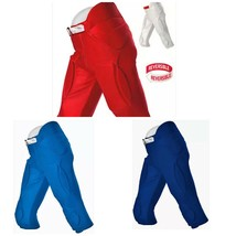 Alleson Youth Boy's Reversible Solo Series Football Pant Navy, Royal, White - $9.99