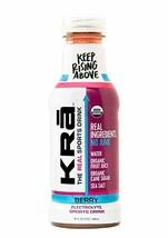 Kra Drinks For Athletes, Sports Drink Berry Organic, 16 Fl Oz