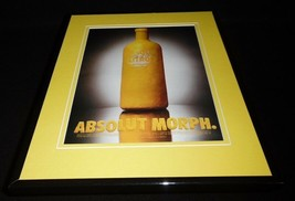 1995 Absolut Morph Citron Vodka 11x14 Framed ORIGINAL Vintage Advertisement - $32.36