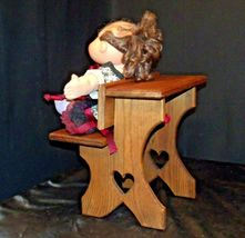 Cabbage Patch Doll sitting at a Large Wooden School Desk AA-191964  Collectible image 6