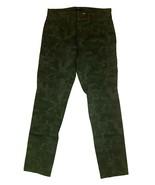 Supplies by Union Bay Women's Cargo Stretch Pant Jeans Camo Green Sz 6 - $17.79
