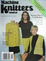 Machine Knitters Source Sept Oct  1998 Magazine Metallic Knitting & More - $5.99