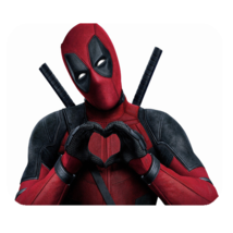 Mouse Pads Deadpool With Love Marvel Super Heroes American Movie Comic Mousepads - $6.00