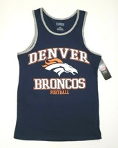 Denver Broncos Men's NFL Pro Line Tank Top Team Apparel Navy/Orange/Whit... - $20.00