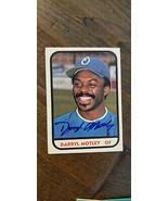 1981 TCMA SIGNED AUTO ROOKIE CARD DARRYL MOTLEY OMAHA ROYALS BRAVES JAPA... - $7.99