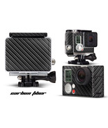 Skin Stickers for GoPro Hero 3+ Camera & Case Decal HERO3+ Go Pro CARBON... - $9.85