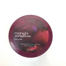 Bath Body Works Midnight Pomegranate Body Butter Full Size 7 oz/200g - $42.56