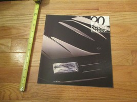 Dodge Shadow 1990 Dealership Dealer car Sales Brochure - $8.99