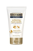 Gold Bond Ultimate Softening Foot Cream with Shea Butter, 4 Ounce, Leave... - $8.58