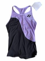 NWT NEW Purple Black Yonex Racerback Running Athletic Tank Top Women Sz S Tennis image 1
