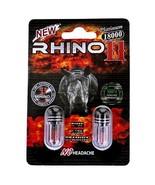 Rhino 11 Double Platinum 18000 - Now Double POWER - 40 PILLS 2 PER CARD ... - $139.99