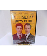 BILLIONAIRE BOYS CLUB Movie DVD Kevin Spacey Emma Roberts AMBITION GREED... - $7.60