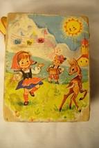 Fisher Price Do Re Mi Swiss Music Box 1969 image 2