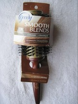 "Goody 1 3/4"" Barrel Round Smooth Blends Ceramic Boar Blend Bristles Wood... - $10.00"