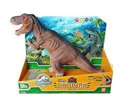 Think Toys Dino Park Sound Dinosaur Tyrannosaurus Soft Figure Toy