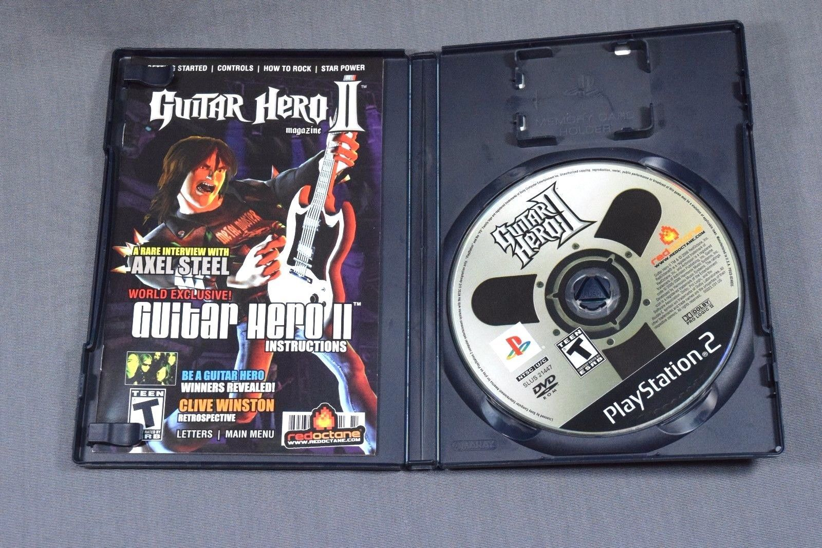 Guitar Hero Ii Playstation 2 Game Complete and 50 similar items