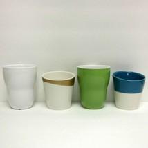 STARBUCKS COFFEE COMPANY ASSORTED LOT (4) GREEN & WHITE AIDA & TAO CUPS - $42.95