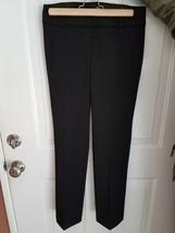 Ann Tailor Lost Marisa Straight womens dress pants black size 00 - $14.50