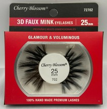 CHERRY BLOSSOM 3D FAUX MINK EYELASHES 25mm GLAMOUR & VOLUMINOUS  #72702 - €1,79 EUR