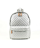 MZ Wallace Large Metro Quilted Nylon Backpack - Metallic (Retail - $245) - $187.11