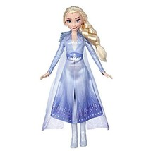 Disney Frozen Elsa Fashion Doll with Long Blonde Hair & Blue Outfit Insp... - $16.05