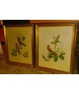 Vintage James Gordon Irving. # 205 & 206 ROBINS Apple Blossom Cardinals ... - $49.49
