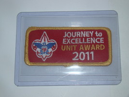 Boy Scouts - Journey To Excellence Unit Award 2011 (Patch) - $12.00
