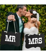 Photo Props Wedding Decorations Bride Mr Mrs Party Supplies Baby Shower ... - $9.28