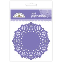 "MINI Paper Doilies.  75 Pack. 3""  Choose Color. Doodlebug Designs"