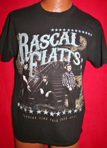 Rascal Flatts 2011 Nothing Like This Concert Tour T-SHIRT M Country Music - $6.92