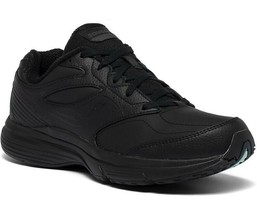 Saucony Womens Integrity Walker 3 Narrow Black Leather Neutral Shoes S50... - $139.99