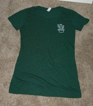 Bella Canvas Cactus Long Green T-Shirt Women's Size M ek - $10.00