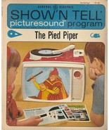 The Pied Piper Show 'N Tell Picturesound Program 1967 Vintage ST 208 - $8.90