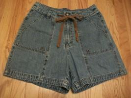 VINTAGE RIDERS Riveted Denim Shorts Sz 10 - $8.91