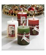 HOLIDAY WREATH SCENTED CANDLE 3X4 - $9.95