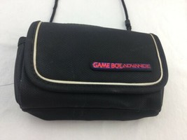 GameBoy Advance Carrying Case/Carrying Bag Black gently used - $14.01