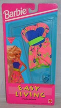 1992 Barbie Easy Living Fashions Pink Floral Dress Mattel 660 - $9.99