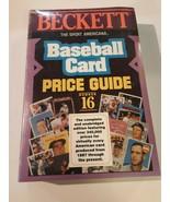 Beckett Baseball Price Guide No. 16 Dr. James Beckett 1994 - $12.86